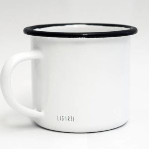 Emaille-Tasse, die Begegnung, 300 ml 3
