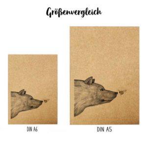 Notizbuch, Begegnung, DIN A5 5
