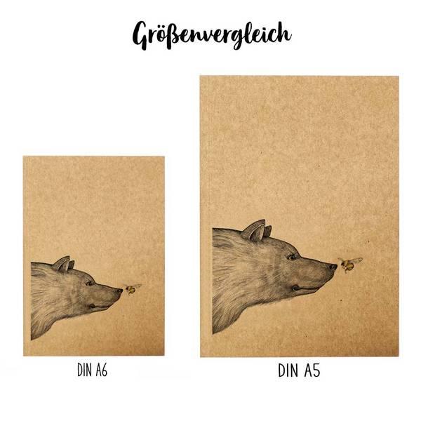 Notizbuch, Begegnung, DIN A5 3