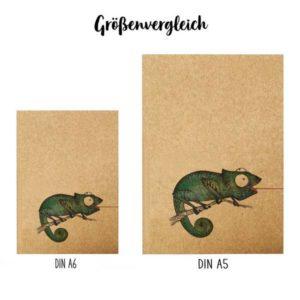 Notizbuch, Fliegenfänger, DIN A5 5