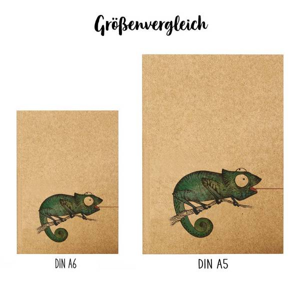 Notizbuch, Fliegenfänger, DIN A5 3