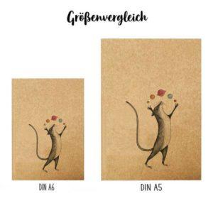 Notizbuch, Planetenmaus, DIN A5 5