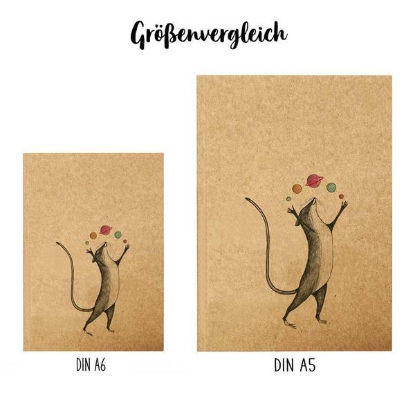 Notizbuch, Planetenmaus, DIN A5 3