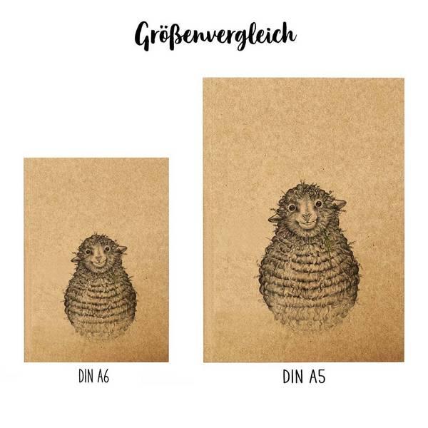 Notizbuch, Wollfried, DIN A6 3