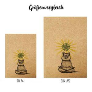 Notizbuch, Yogibär, DIN A5 5