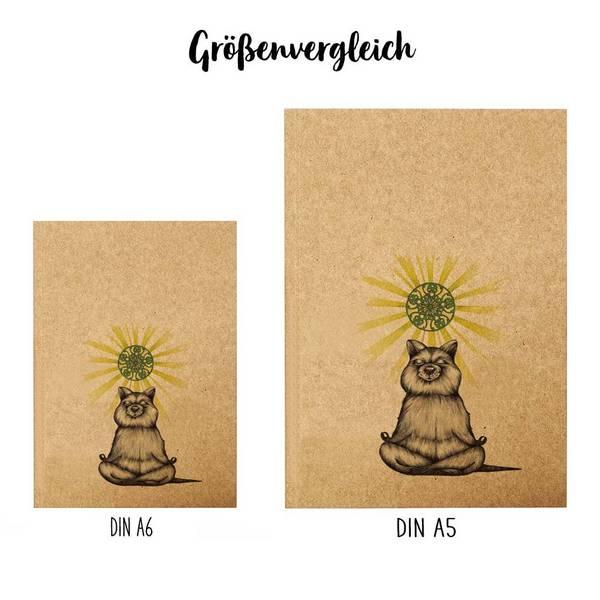 Notizbuch, Yogibär, DIN A5 3