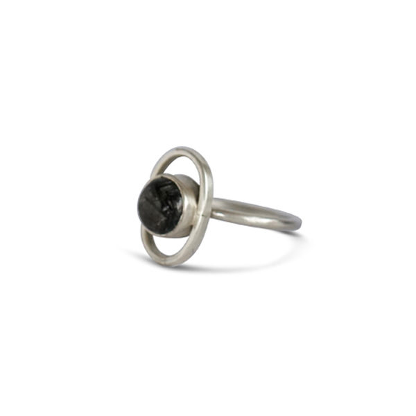 Ring Solar Silber 2