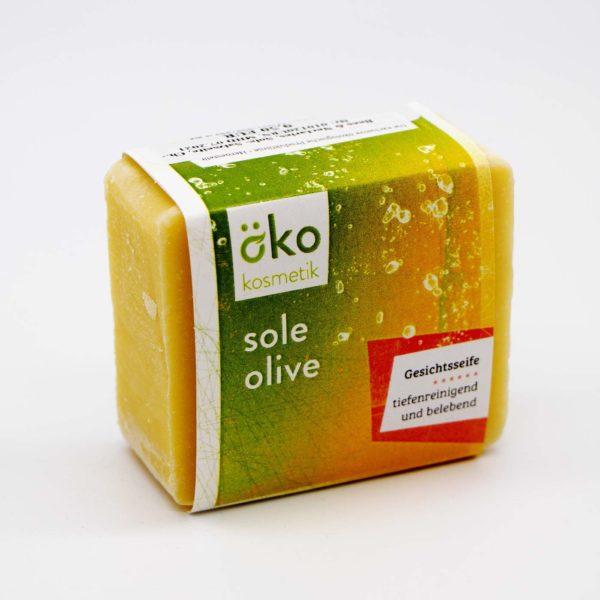 Sole-Olive Seife, Gesicht, 100 g 1