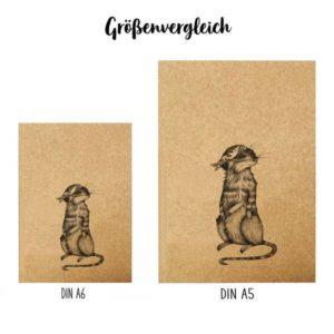 Notizbuch, A5, Toni Knife 5