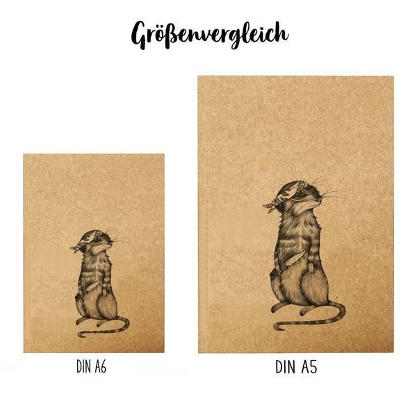 Notizbuch, A5, Toni Knife 3