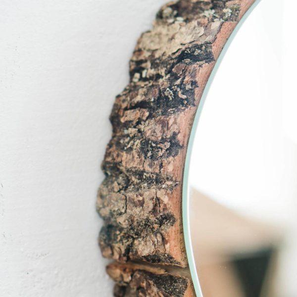Wandspiegel Wood Eye aus Eiche 1