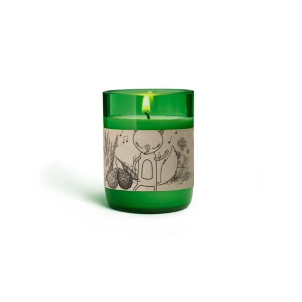 Duftkerze im Glas Blütenwiese - 110 ml 2