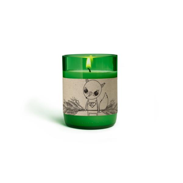 Duftkerze im Glas Wildkräuter - 110 ml 2