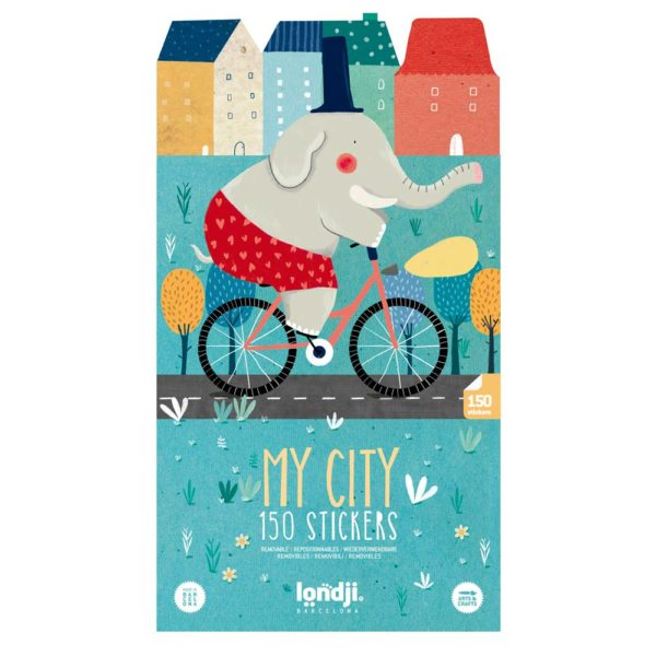 Stickerset My City – 150 Stück