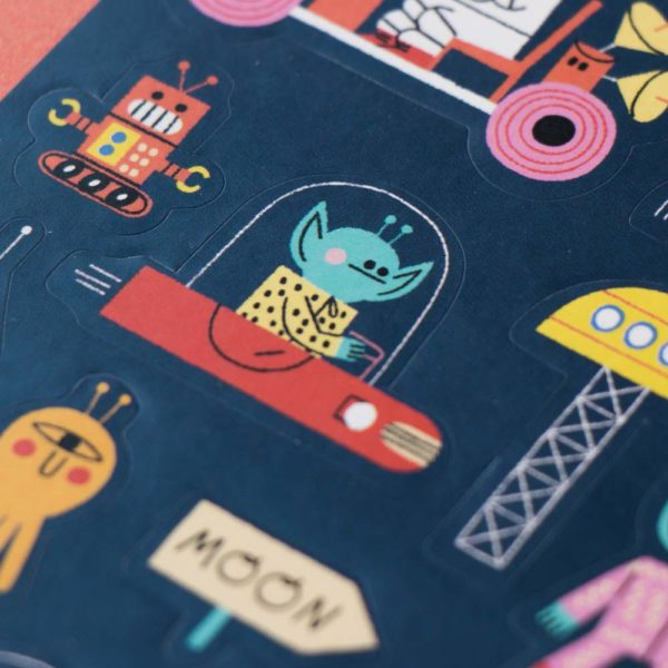 Stickerset Space von londji