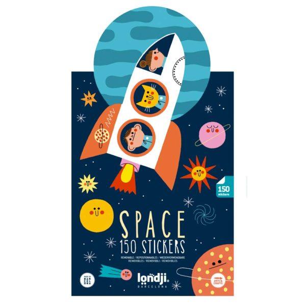 Stickerset Space – 150 Stück