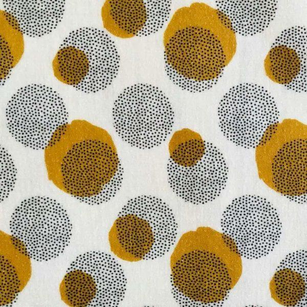 Bienenwachstuch Motiv Dots - Gr. L