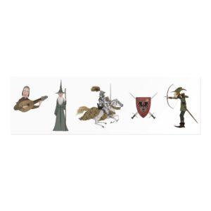Tattoos Medieval – 10 Motive – 2 Seite