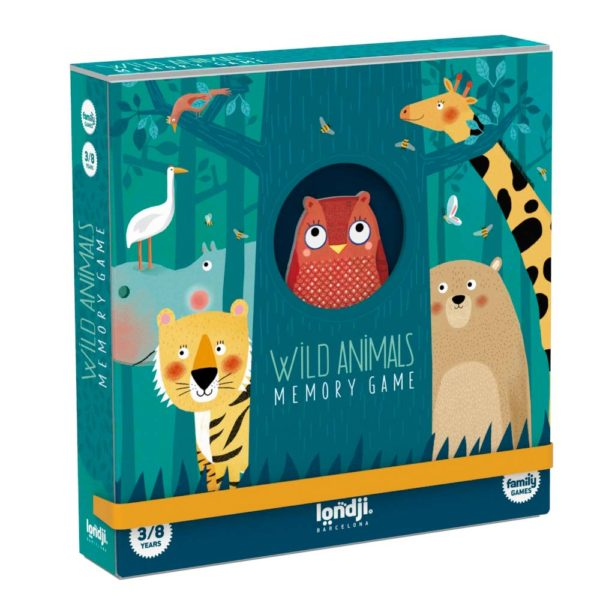 Memory Wild Animals – 32 Karten