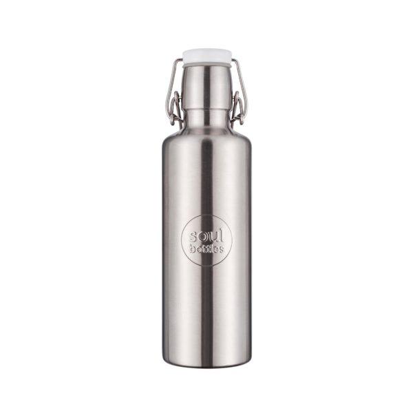 Edelstahltrinkflasche Steel - 0,6 l