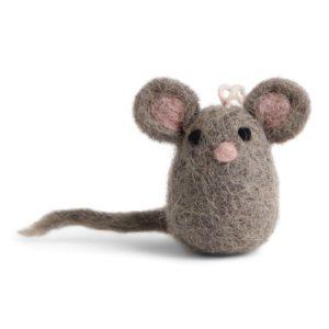 Anhänger Mäuse aus Filz – 3er Set 2