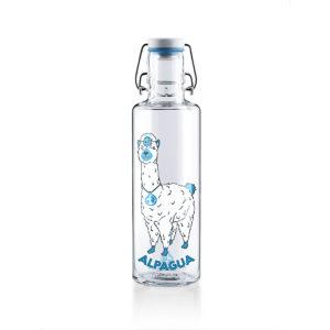 Glastrinkflasche Alpagua - 0,6 l