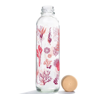 Glastrinkflasche Coral Reef - 0,7 l