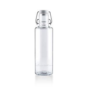 Glastrinkflasche Einfach nur Wasser - 0,6 l