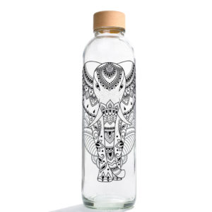 Glastrinkflasche Elephant - 0,7 l
