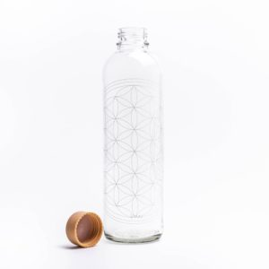 Glastrinkflasche Flower of Life – 1,0 l 4