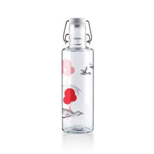 Glastrinkflasche Flug der Pinguine - 0,6 l