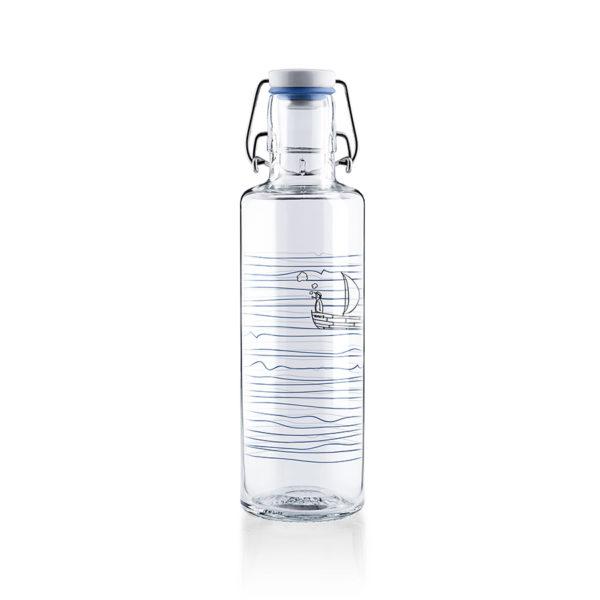 Glastrinkflasche Heimat.Wasser. - 0,6 l