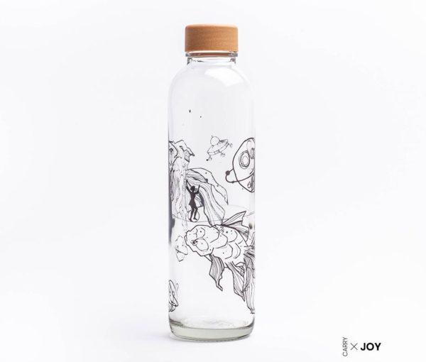 Glastrinkflasche Liquid Universe - 0,7 l