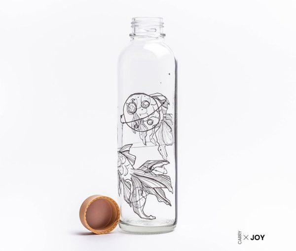 Glastrinkflasche Liquid Universe - 0,7 l 1