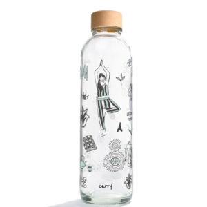 Glastrinkflasche Namaste - 0,7 l