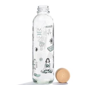 Glastrinkflasche Namaste - 0,7 l 2