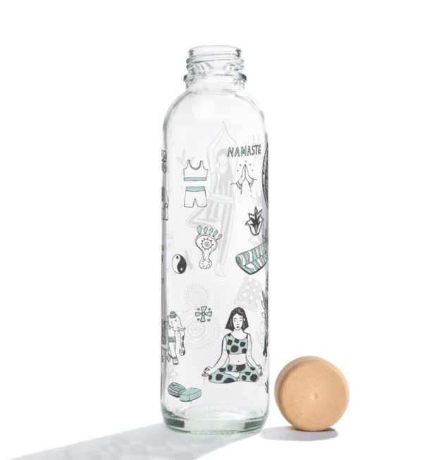 Glastrinkflasche Namaste - 0,7 l 1