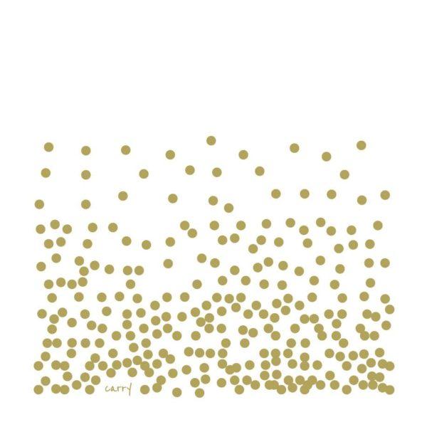 Glastrinkflasche Pure Gold - 0,7 l
