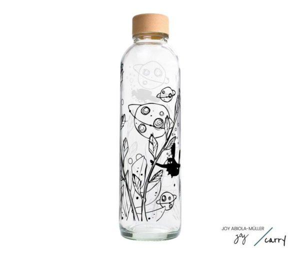 Glastrinkflasche Space Diver - 0,7 l
