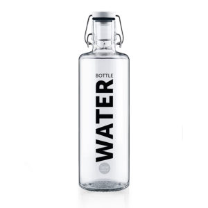 Glastrinkflasche Water bottle - 1,0 l