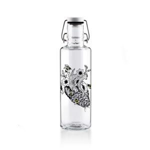 Glastrinkflaschenflasche No bees, no future - 0,6 l