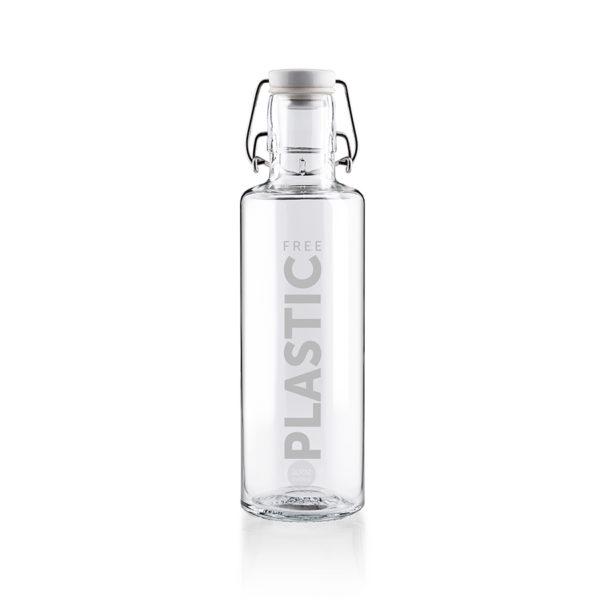 Glastrinkflaschenflasche Plastic free - 0,6 l