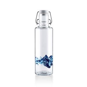 Glastrinkflassche Alpenblick - 0,6 l