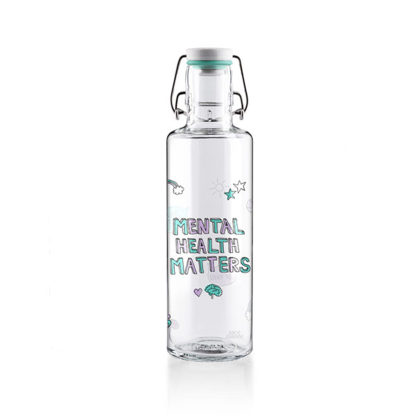 Glastrinkfllasche You matter - 0,6 l