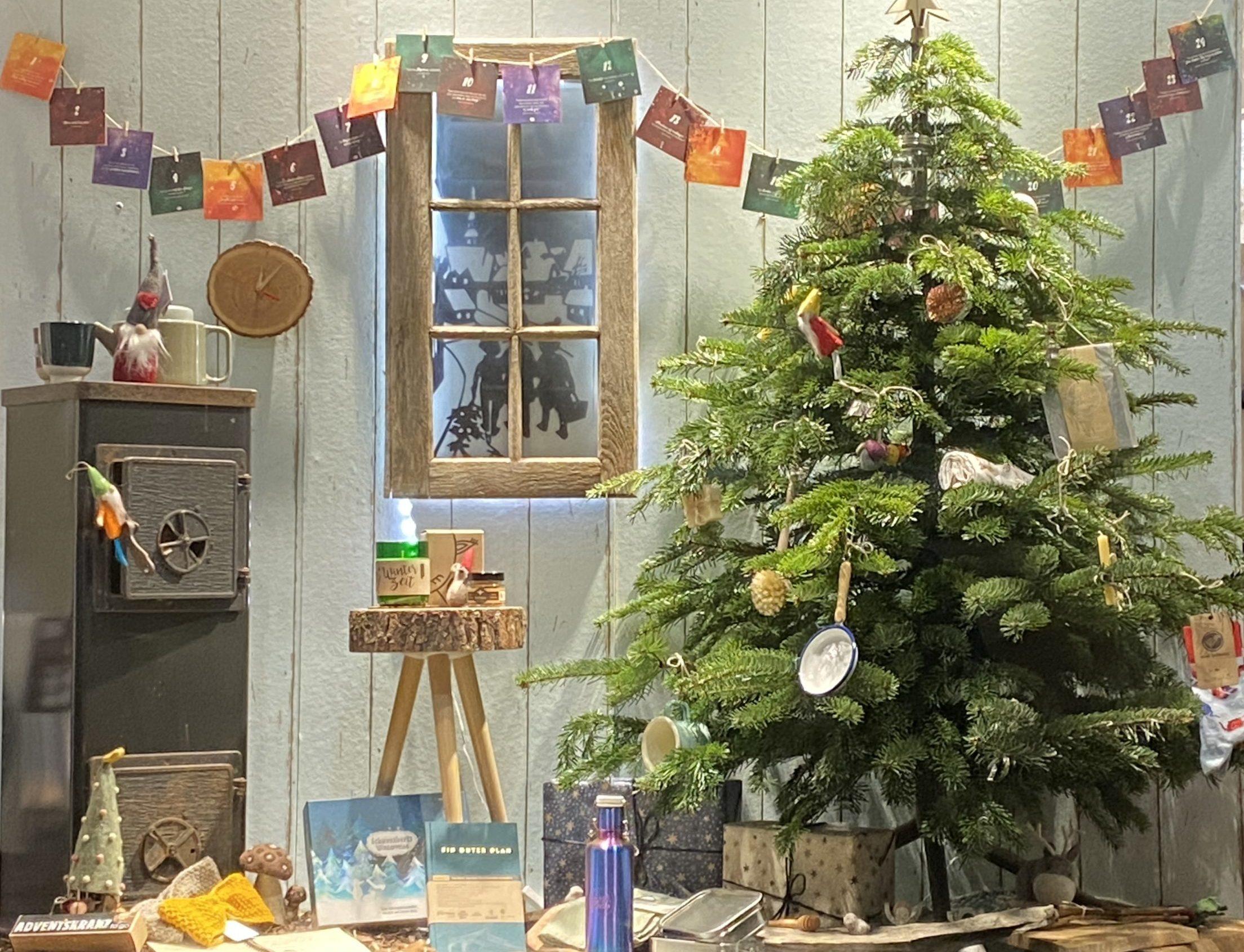 Gewinne einen geschmückten Weihnachtsbaum 1