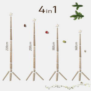 Keinachtsbaum Original - aus Eschenholz 3