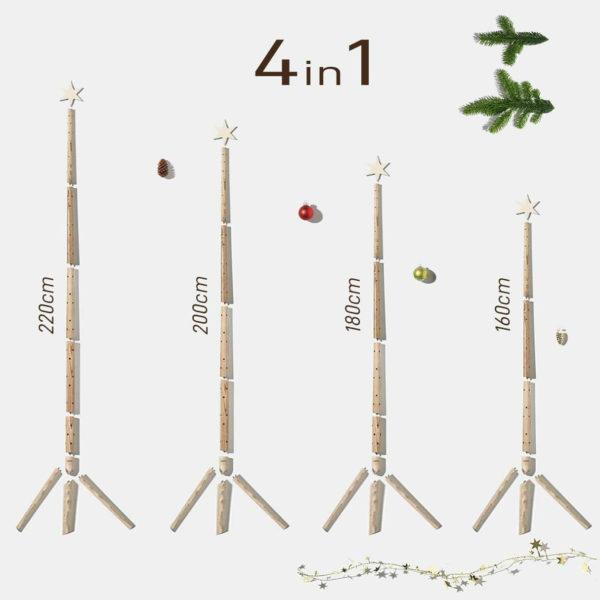 Keinachtsbaum Original - aus Eschenholz 1