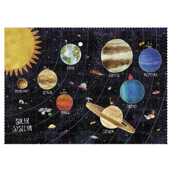 Leuchtpuzzle Discover the Planets - 200 Teile 1