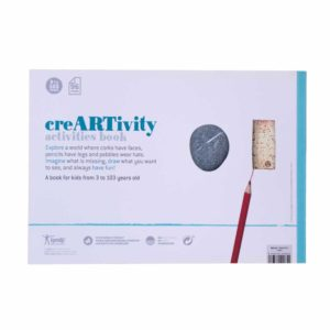 Activities Book Creartivity – Rückseite