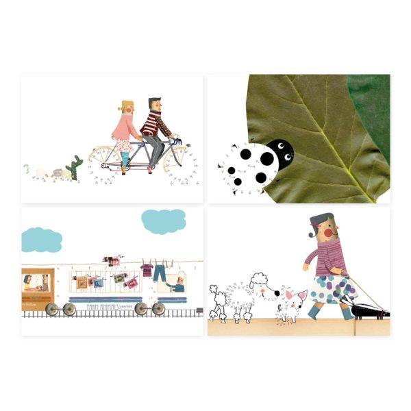 Activities Book Art & Dots von londji